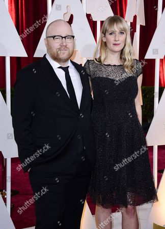 Johann Johannsson (l) and Guest Arrive For the 87th Annual Academy Awards Ceremony at the Dolby Theatre in Hollywood California Usa 22 February 2015 the Oscars Are Presented For Outstanding Individual Or Collective Efforts in 24 Categories in Filmmaking United States Hollywood
