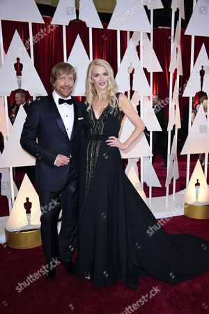Morten Tyldum (l) and Janne Tyldum (r) Arrive For the 87th Annual Academy Awards Ceremony at the Dolby Theatre in Hollywood California Usa 22 February 2015 the Oscars Are Presented For Outstanding Individual Or Collective Efforts in 24 Categories in Filmmaking United States Hollywood