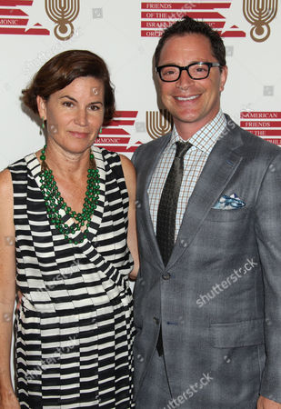 Us Costume Designer Melissa Mewin and Us Actor Josh Malina Arrive For the American Friends of the Israel Philharmonic Orchestra Benefit at the Wallis Annenberg Center For the Performing Arts in Beverly Hills California Usa 16 July 2014 the American Friends of the Israel Philharmonic Orchestra Honored German Composer Hans Zimmer with a Lifetime Achievement Award United States Beverly Hills