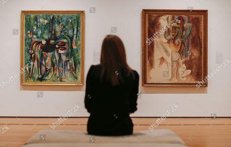 Editorial picture of Usa Arts Wilfredo Lam Exhibit - Feb 2015