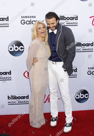 Uk Singer Britney Spears (l) and Boyfriend Charlie Ebersol Arrive For the 2015 Billboard Music Awards at the Mgm Grand Hotel and Casino in Las Vegas Nevada Usa 17 May 2015 the Billboard Music Awards Finalists Are Based on Us Year-end Chart Performance Sales Number of Downloads and Total Airplay United States Las Vegas
