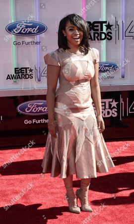 Us Actress Kyla Pratt Arrives For the 2014 Black Entertainment Television (bet) Awards in Los Angeles California Usa 29 June 2014 the Bet Awards Honor Entertainers in Music Movies and Sports Figures in the Entertainment Industry United States Los Angeles