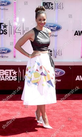 Us Actress Latarsha Rose Arrives For the 2014 Black Entertainment Television (bet) Awards in Los Angeles California Usa 29 June 2014 the Bet Awards Honor Entertainers in Music Movies and Sports Figures in the Entertainment Industry United States Los Angeles