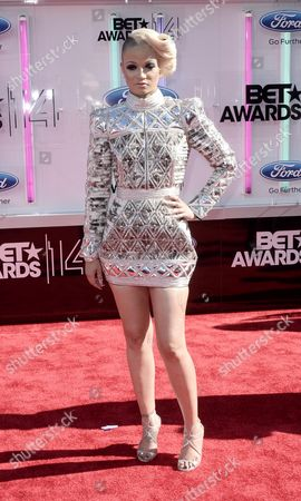 Us Rapper Charli Baltimore Arrives For the 2014 Black Entertainment Television (bet) Awards in Los Angeles California Usa 29 June 2014 the Bet Awards Honor Entertainers in Music Movies and Sports Figures in the Entertainment Industry United States Los Angeles