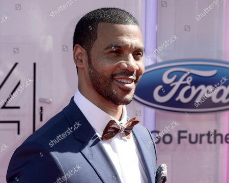 Us Actor Aaron D Spears Arrives For the 2014 Black Entertainment Television (bet) Awards in Los Angeles California Usa 29 June 2014 the Bet Awards Honor Entertainers in Music Movies and Sports Figures in the Entertainment Industry United States Los Angeles