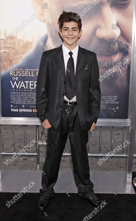 Us Actor Dylan Georgiades Arrives at the Premiere of 'The Water Diviner' at the Tcl Chinese Theatre Imax Laser in Hollywood California Usa 16 April 2015 the Movie Will Be Released in Us Theaters on 24 April United States Los Angeles