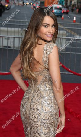 Colombian Actress Sofia Vegara Arrives For the Premiere of 'Hot Pursuit' at the Tcl Chinese Theatre in Hollywood California Usa 30 April 2015 United States Los Angeles