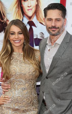 Colombian Actress Sofia Vegara and Us Actor Joe Manganiello Arrive For the Premiere of 'Hot Pursuit' at the Tcl Chinese Theatre in Hollywood California Usa 30 April 2015 United States Los Angeles