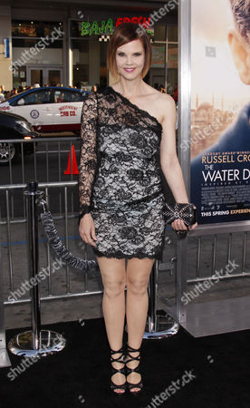 Us Actress Kiersten Warren Arrives at the Premiere of 'The Water Diviner' at the Tcl Chinese Theatre Imax Laser in Hollywood California Usa 16 April 2015 the Movie Will Be Released in Us Theaters on 24 April United States Los Angeles