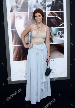 Stock Photo of Us Actress and Cast Member Ali Milner Arrives For the World Premiere of 'If i Stay' at Tcl Chinese Theatre in Hollywood California Usa 20 August 2014 the Movie Will Run in Theaters From 22 August 2014 United States Hollywood