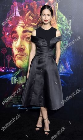 Us Actress and Cast Member Katherine Waterson Arrives For the Movie Premiere of 'Inherent Vice' in Hollywood California Usa 10 December 2014 the Comedy-drama Movie is Scheduled to Be Released in the Us Theaters on 12 December 2014 United States Hollywood