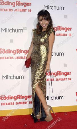 Japanese Actress Ami Haruna Arrives For the World Premiere of 'The Wedding Ringer' at Tcl Chinese Theatre in Hollywood California Usa 06 January 2015 the Movie Opens in Us Theaters on 16 January United States Hollywood