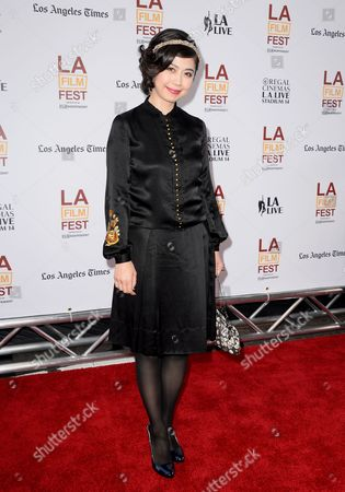 Stock Picture of Japanese Actor Ayako Fujitani Arrives For the Us Premiere of 'Snowpiercer' in Los Angeles California Usa 11 June 2014 United States Los Angeles