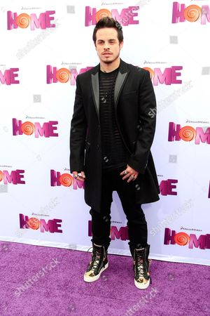 Stock Picture of Us Choreographer Beau Casper Smart Arrives For the Los Angeles Premiere of 'Home' at the Regency Village Theater in Westwood California Usa 22 March 2015 the 3d Animated Movie Opens in Us Theaters on 27 March United States Los Angeles