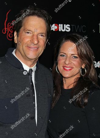 Us Businessman Peter Guber and Cathy Schulman Arrive For Radius-twc's Special Screening of the Movie Premiere 'Horns' at Arclight Hollywood in Hollywood California Usa 30 October 2014 United States Hollywood