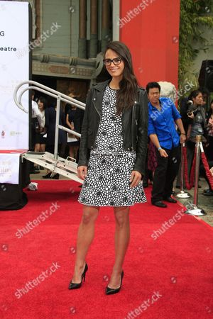 Us Actress Jordana Brewster at the 88th Birthday of Tcl Chinese Theater Imax and Hand and Footprint Ceremony For Justin Lin Zhao Wei and Huang Xiaoming at Tcl Chinese Theater in Hollywood California Usa 03 June 2015 United States Hollywood