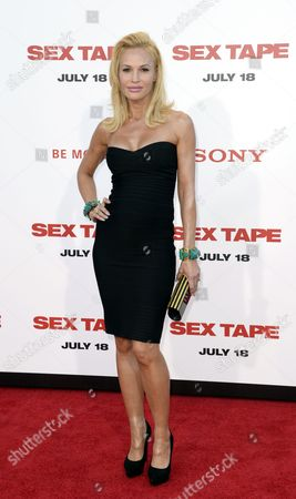 Stock Photo of Us Actress Jolene Blalock Arrives For the Premiere of the Movie 'Sex Tape' in Westwood California Usa 10 July 2014 United States Westwood