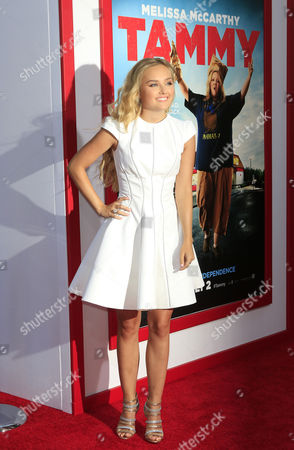 Us Actress and Cast Member Mia Rose Frampton Arrives For the Los Angeles Premiere of 'Tammy' at the Tcl Chinese Theater in Hollywood California Usa 30 June 2014 the Movie Opens in Theaters on 02 July 2014 United States Los Angeles