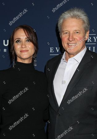 Us Actor Bruce Boxleitner (r) and Verena King Arrive at the 'The Theory of Everything' Film Premiere at the Samuel Goldwyn Theater in Beverly Hills California Usa 28 October 2014 United States Beverly Hills
