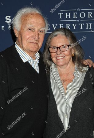 Us Actor Robert Loggia (l) and Producer Audrey Loggia Arrive at the 'The Theory of Everything' Film Premiere at the Samuel Goldwyn Theater in Beverly Hills California Usa 28 October 2014 United States Beverly Hills