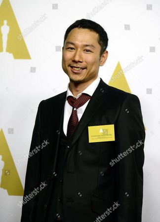 Japanese Producer Yoshiaki Nishimura Arrives For the Oscar Nominees Luncheon at the Beverly Hilton in Beverly Hills California Usa 02 February 2015 Nishimura's Film 'The Tale of the Princess Kuguya' is Nominated For Animated Feature Film United States Beverly Hills