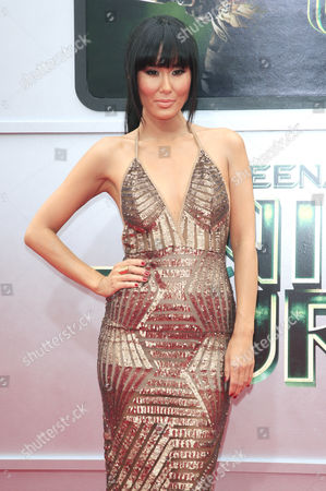 Japanese-american Actress and Cast Member Minae Noji Arrives For the Los Angeles Premiere of 'Teenage Mutant Ninja Turtles' at the Regency Village Theater in Westwood California Usa 03 August 2014 the Movie Opens in the Us Theaters on 08 August 2014 United States Los Angeles