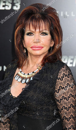 Jackie Stallone Arrives with Family at the Premiere For 'The Expendables 3' at the Tcl Chinese Theatre in Hollywood California Usa 11 August 2014 United States Hollywood