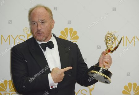 Stock Picture of Louis C K Winner of the Emmy For Outstanding Writing For a Comedy Series For 'Louie ' Poses in the Press Room During the 66th Annual Primetime Emmy Awards Held at the Nokia Theatre in Los Angeles California Usa 25 August 2014 the Primetime Emmy Awards Celebrate Excellence in National Primetime Television Programming United States Los Angeles