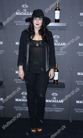 Us Singer-songwriter Morgan Kibby Arrives For the Macallan Masters of Photography: Elliott Erwitt Launch Event at the Leica Gallery in West Hollywood California Usa 24 October 2013 Us Photographer Elliott Erwitt is the Fourth Photographer Featured in the Macallan Masters of Photography Series the Show Features Original Images of Scotland Shot by Erwitt United States West Hollywood