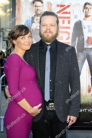 Us Actress and Cast Member Kira Sternbach Arrives with Elden Henson For the World Premiere of 'Neighbors' at the Regency Village Theater in Westwood California Usa 28 April 2014 the Movie Opens in Theaters 09 May 2014 United States Los Angeles