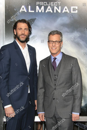Us Producers Andrew Form (l) and Bradley Fuller (r) Arrive For the Los Angeles Premiere of Paramount Pictures' 'Project Almanac' at Tcl Chinese Theater in Hollywood Los Angeles California Usa 27 January 2015 the Show Airs in the Us on 30 January 2015 United States Los Angeles