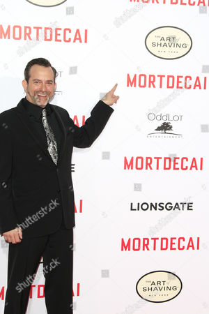 Us Composer Geoff Zanelli Arrives For the Los Angeles Premiere of 'Mortdecai' at Tcl Chinese Theatre in Los Angeles California Usa 21 January 2015 the Movie Opens in the Us Theaters on 23 January 2015 United States Los Angeles