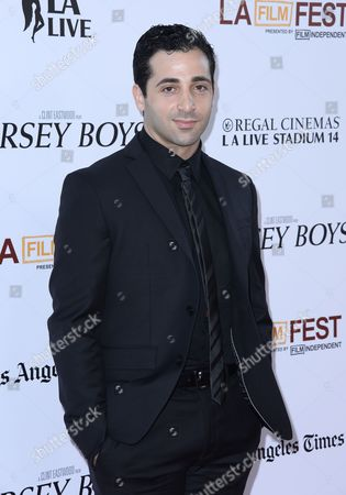 Us Actor and Cast Member Johnny Cannizzaro Arrives For the Los Angeles Film Festival Premiere of 'Jersey Boys' in Los Angeles California Usa 19 June 2014 United States Los Angeles