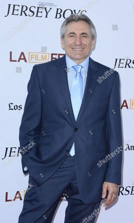 Stock Picture of Us Actor and Cast Member Lou Volpe Arrives For the Los Angeles Film Festival Premiere of 'Jersey Boys' in Los Angeles California Usa 19 June 2014 United States Los Angeles