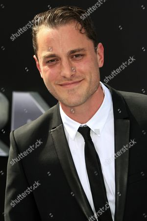Stock Photo of Us Actor/cast Member Kyle Clements Arrives For the Los Angeles Premiere of Paramount Pictures 'Terminator Genisys' at the Dolby Theatre in Hollywood Los Angeles California Usa 28 June 2015 the Movie Opens in Us Theaters on 01 July 2015 United States Los Angeles