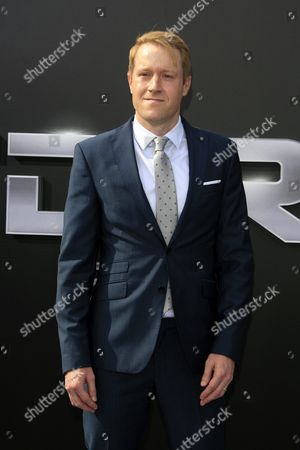 Stock Image of Us Actor/cast Member Wayne Bastrup Arrives For the Los Angeles Premiere of Paramount Pictures 'Terminator Genisys' at the Dolby Theatre in Hollywood Los Angeles California Usa 28 June 2015 the Movie Opens in Us Theaters on 01 July 2015 United States Los Angeles