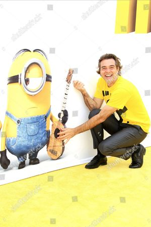 Brazilian Composer Heitor Pereira Arrives For the Los Angeles Premiere of Universal Pictures and Illumination Entertainment's 'Minions' at the Shrine Auditorium in Los Angeles California Usa 27 June 2015 the Movie Opens in the Us on 10 July 2015 United States Los Angeles