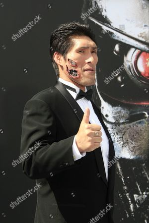 Japanese Judo Gold Medalist Shinichi Shinohara Arrives For the Los Angeles Premiere of Paramount Pictures 'Terminator Genisys' at the Dolby Theatre in Hollywood Los Angeles California Usa 28 June 2015 the Movie Opens in Us Theaters on 01 July 2015 United States Los Angeles