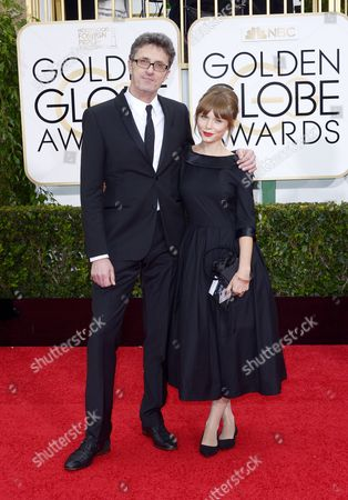 Pawel Pawlikowski (l) and Agata Trzebuchowska (r) Arrive For the 72nd Annual Golden Globe Awards at the Beverly Hilton Hotel in Beverly Hills California Usa 11 January 2015 Epa/paul Buck United States Los Angeles