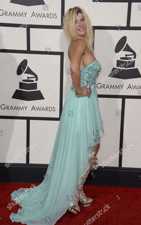 Us Singer Nadeea Arrives For the 56th Annual Grammy Awards Held at the Staples Center in Los Angeles California Usa 26 January 2014 United States Los Angeles