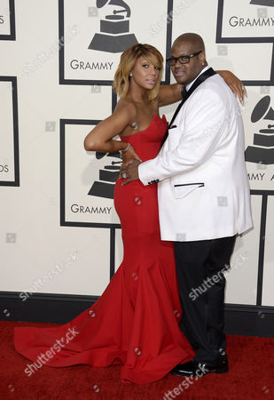 Us Musician Tamar Braxton and Husband Vincent Herbert Arrive For the 56th Annual Grammy Awards Held at the Staples Center in Los Angeles California Usa 26 January 2014 United States Los Angeles