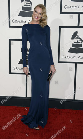 Us Model Holly Ridings Arrives For the 56th Annual Grammy Awards Held at the Staples Center in Los Angeles California Usa 26 January 2014 United States Los Angeles