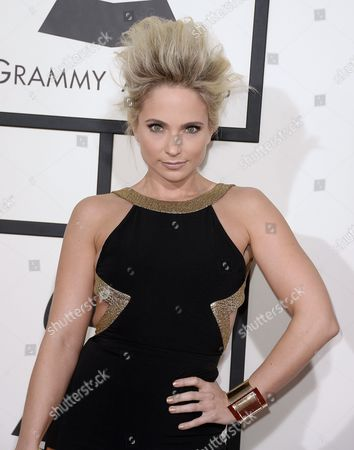 Us Singer/songwriter Cara Quici Arrives For the 56th Annual Grammy Awards Held at the Staples Center in Los Angeles California Usa 26 January 2014 United States Los Angeles