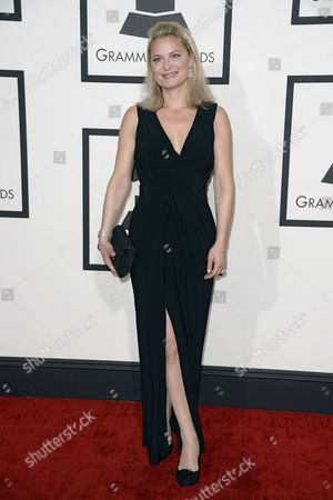 Stock Image of Swedish Opera Singer Anna Einarsson Arrives For the 56th Annual Grammy Awards Held at the Staples Center in Los Angeles California Usa 26 January 2014 United States Los Angeles