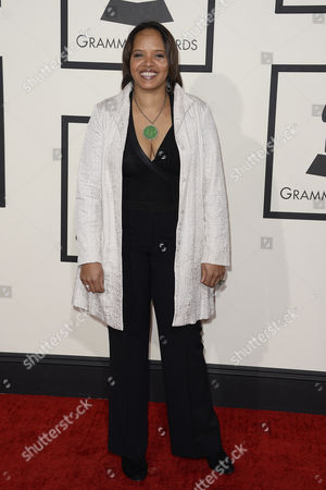 Us Jazz Drummer Terri Lyne Carrington Arrivs For the 56th Annual Grammy Awards Held at the Staples Center in Los Angeles California Usa 26 January 2014 United States Los Angeles