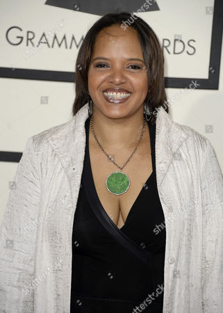 Stock Image of Us Jazz Drummer Terri Lyne Carrington Arrives For the 56th Annual Grammy Awards Held at the Staples Center in Los Angeles California Usa 26 January 2014 United States Los Angeles