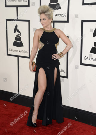Us Singer Songwriter Cara Quici Arrives For the 56th Annual Grammy Awards Held at the Staples Center in Los Angeles California Usa 26 January 2014 United States Los Angeles