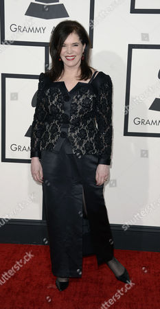 Us Singer-songwriter Lorraine Feather Arrives For the 56th Annual Grammy Awards Held at the Staples Center in Los Angeles California Usa 26 January 2014 United States Los Angeles