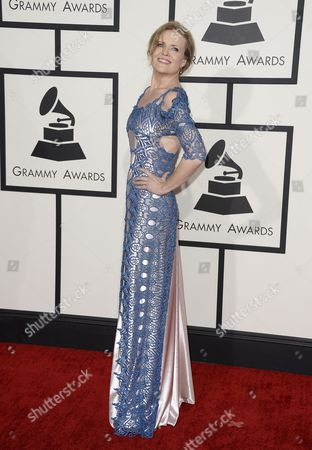 Us Jazz Singer Tierney Sutton Arrives For the 56th Annual Grammy Awards Held at the Staples Center in Los Angeles California Usa 26 January 2014 United States Los Angeles