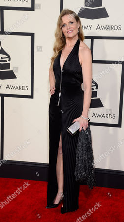 Us Singer Tierney Sutton Arrives For the 57th Annual Grammy Awards Held at the Staples Center in Los Angeles California Usa 08 February 2015 United States Los Angeles